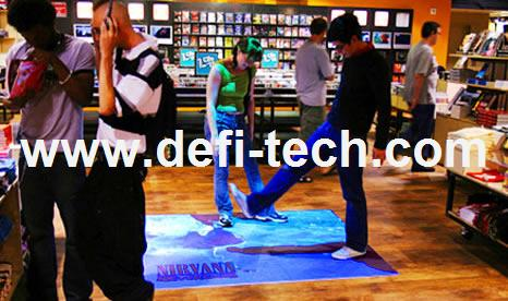 Defi Interactive Floor Projection System /interactive wall projector system software With 107 Effects for Kids amusement(China (Mainland))