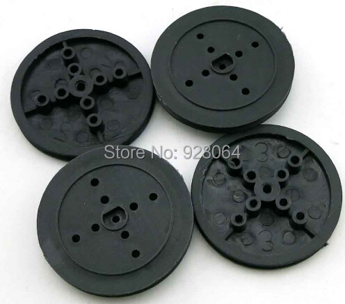 36mm flat black hole pulley / Technology small production model / plastic gear wheel(China (Mainland))