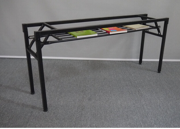 Folding frame. The table leg iron frame. Fold training table legs. Meeting. Activity table leg(China (Mainland))
