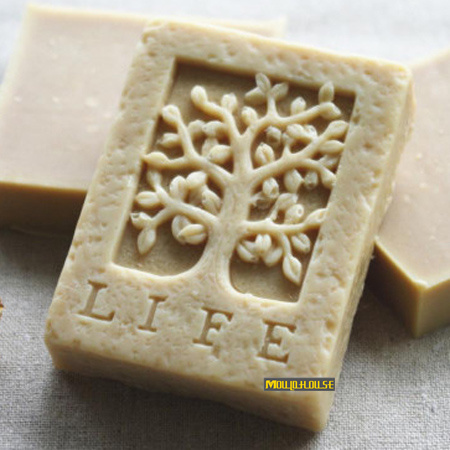 life tree Square Shaped Soap Silicone Mold Trees Molds Resin Candle Mould Form of Cake Polymer Clay Tools Cooking Supplies(China (Mainland))
