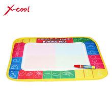 XC8866 29X19cm 4 color Mini Water Drawing  Mat Aquadoodle Mat&1 Magic Pen/Water Drawing board/baby play mat Free shipping (China (Mainland))