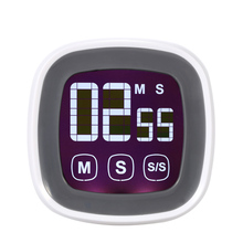 LCD Digital Touch Screen Kitchen Timer Practical Cooking Timer Countdown Count UP Alarm Clock Kitchen Gadgets Cooking Tools(China (Mainland))