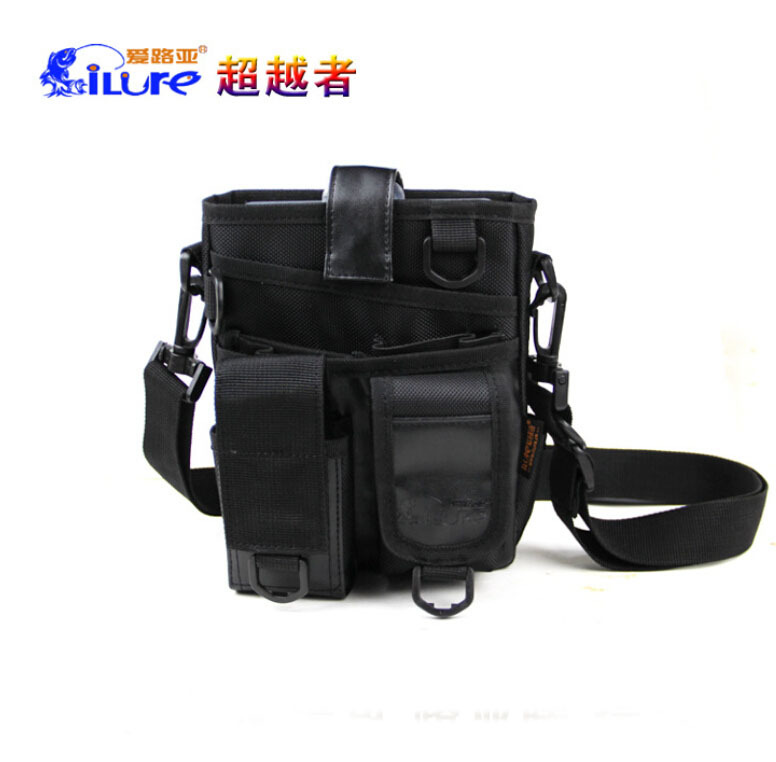 Brand I LURE Outdoor Fishing Package Bag Military System Phone Package Attached Hanging Waist Pack Fishing Bags Free Shipping(China (Mainland))