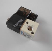 "1x 3V1-06 12V DC 3Port 2Pos 1/8"" BSP Normally Closed Solenoid Air Valve Coil Led(China (Mainland))"