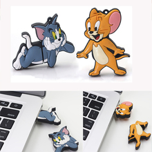 Buy Pendrive 128G mouse cartoon usb 2.0 pen usb flash drive 32GB cat 16G drive 8GB pen usb flash memory thumb u disk memory stick for $1.32 in AliExpress store