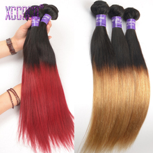 Ombre Hair Extensions Mongolian Hair 1B/Burgundy 1B/27# Mocha Hair Products 50% Discount with Aliexpress Coupon Ofertas Del Dia(China (Mainland))