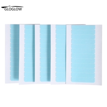 60Pcs/Set Tape Hair Extension Adhesive Tape Double Sided Strengthen Adhesive For Human Hair Skin Weft Tape Tab Beauty Tool(China (Mainland))