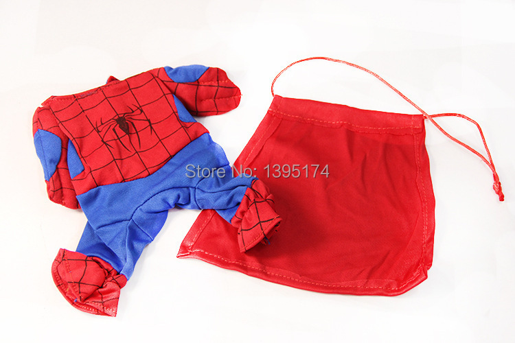2015 ...  sc 1 st  Happy Dog Now & 2015 New Pet Cat Dog Spiderman Costume Suit Puppy Dog Clothes ...