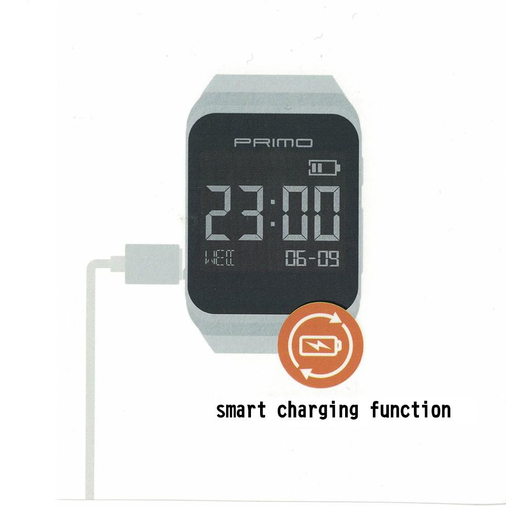 ถูก 2016ใหม่usbเบากับสมาร์ทแบบชาร์จจริงนาฬิกาอิเล็กทรอนิกส์