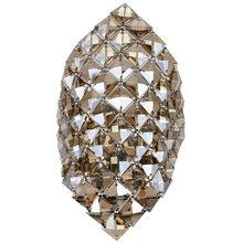 Современная хрустальная люстра G9 настенный светильник золотой кристаллический настенный светильник светодиодный фойе гостиная прикроват...(China)