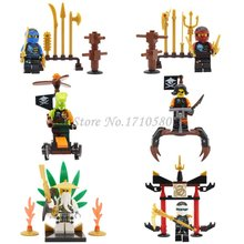 JX1020 Phantom Ninja Minifigures Zane Wu Kai JAY Lloyd Skylor Wrayth Master Chen Mini Figures Building Blocks Toys - Great Wall Technology Co.,Ltd. store