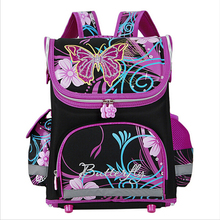 Butterfly Girls School Bags Children Backpack Winx Monster High Primary Bookbag Orthopedic Princess Schoolbags Mochila Infantil(China (Mainland))