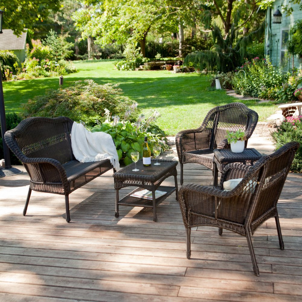 Online get cheap resin patio furniture sets aliexpress for Wicker patio furniture