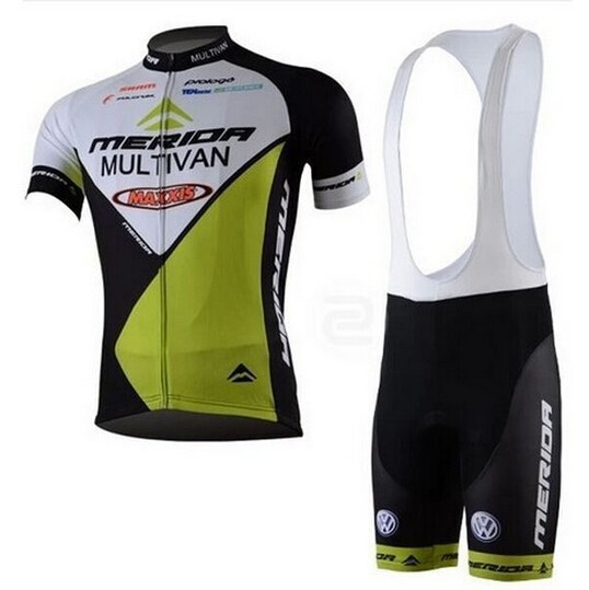 2017 New men MERIDA Cycling jersey ropa ciclismo bicycle Clothing wear shirt and bibs shorts &amp; vest Shorts bike jersey<br><br>Aliexpress