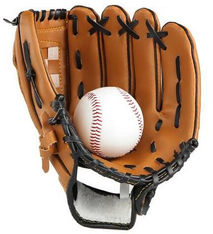 "For the young 11.5"" High quality Artificial leather Pitcher softball gloves Baseball gloves(China (Mainland))"
