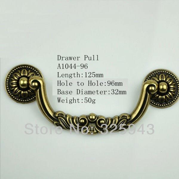 96mm Vintage Antieke Europese Stijl Deurknoppen Keukenkasten Dresser ...