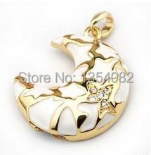 USB Flash Drive Thumb Stick Flash Disk 4GB 8GB 16GB 32GB 64GB Jewelry Necklace Moon Gift Pen Drive