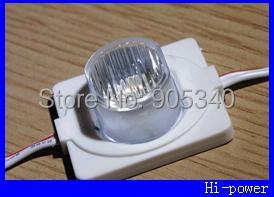 1.5W high power led module side lighting 5050 led lamps led module lens led modul light for signage advertising(China (Mainland))