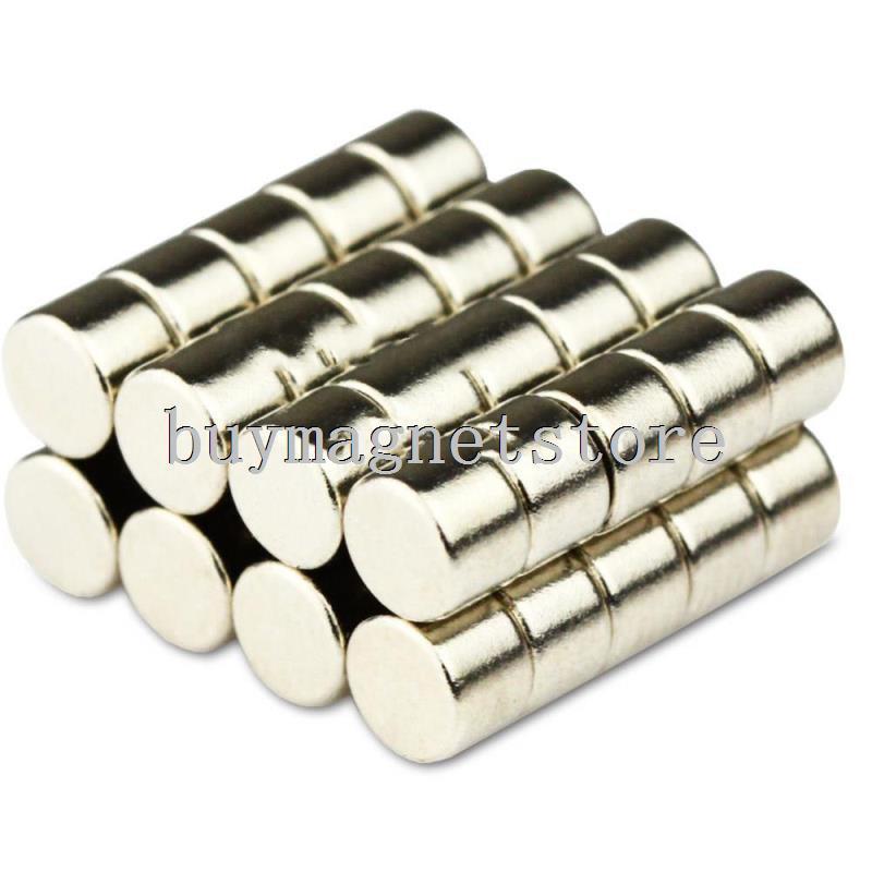 Wholesale ,100 pcs Strong N50 Round Mini Disc Cylinder Magnets 4 * 3 mm Neodymium Rare Earth Free Shippingndfeb Neodymium  magne<br><br>Aliexpress