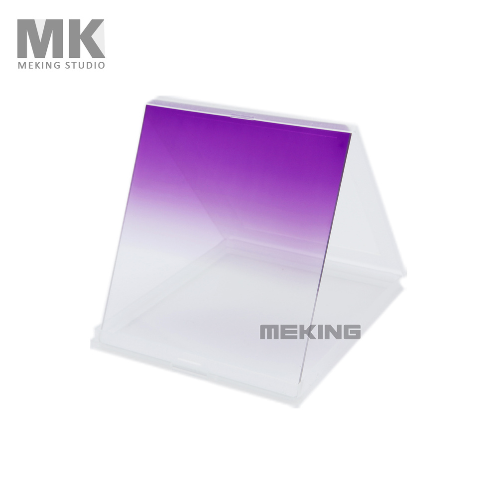 Selens Camera Filters Square Color Filter Gradual Purple for Cokin P Series(China (Mainland))