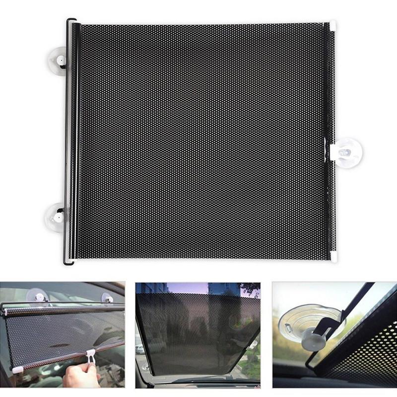Шторка с роликовым механизмом для лобового стекла автомобиля.Защищает пассажиров от солнца.Полная видимость через окно. Купить сейчас. Цена 490 рублей