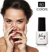 Buy Bling Long Lasting Nail Gel Polish Fashion Colors Gel Polish UV Led Soak Nail Varnish Lacquer UV Gel for $1.11 in AliExpress store