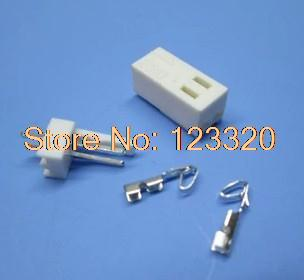 KF2510 2Pin,Pitch:2.54MM/0.1inch, Pin Header + Terminal + Housing, KF2510-2P<br><br>Aliexpress