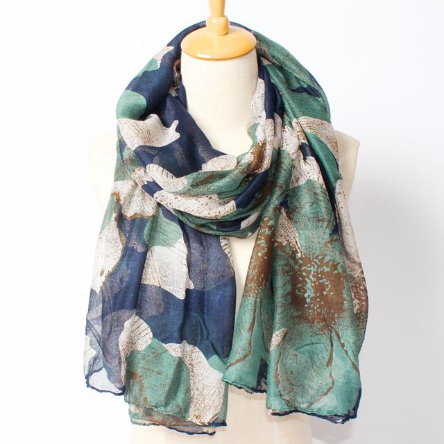 2016 новое поступление зима мода женщин марка дизайн богемия национальный ветер цветочный бегония париж пряжа лонг 180 см шарф большие шали