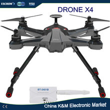 Hot sell Walkera Scout X4 GPS Drone RC Quadcopter Helicopter Quadcopter drone support gopro HD camera