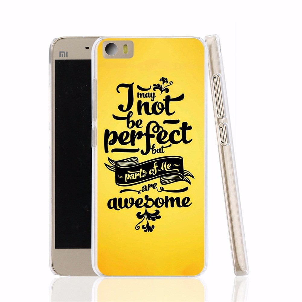 20171 may not be perfect but parts of me are awesome cell phone Cover Case for Xiaomi Mi M 2 3 4 5 Mi4 Mi2 Mi3 Mi4 4S 4I 4C Mi5