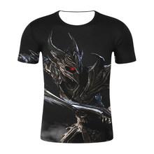 2019 футболка с 3D принтом «The Elder Scrolls V» для мужчин и женщин футболки с 3D принтом «SKYRIM» топы, футболки для мальчиков и девочек крутые рубашки Топ...(China)