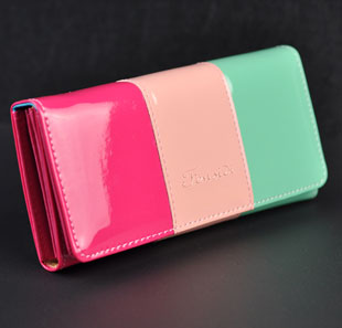 Discount 2016 new designer women clutch fashion brand wallet high quality genuine PU leather coin purse free shipping(China (Mainland))