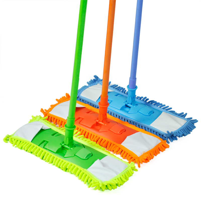 Extendable Microfibre Floor Mop Cleaner Sweeper Wooden Laminate Tile Wet Dry(China (Mainland))