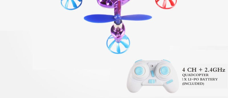 2016 The best beautiful mini Quadrocopter 2.4G 4CH WLtoys V343 rc Drone Sea-Glede 6-Axis RC Quadcopter Toy Aircraft vs X4 H107L