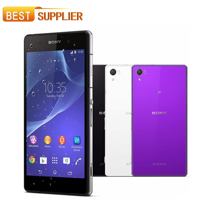 2016 Hot venda de smartphones Original Sony Xperia Z2 Quad core 5.2 '' à prova d ' água 20.7MP Camera 3 GB RAM 16 GB ROM Android 4.4 WIFI GPS(China (Mainland))