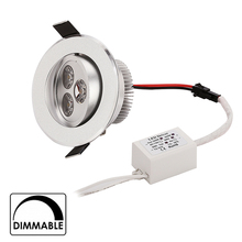 1 9w 12w 15w cool white warm dimmable LED Recessed Downlight AC110V 220V home bathroom kitch store lights - HongKong Bright LEDs lighting co., TED