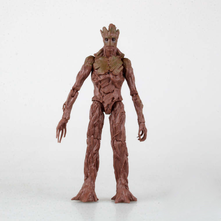 American anime toy Marvel Super hero Guardians of the Galaxy Groot action figures PVC model free shipping(China (Mainland))