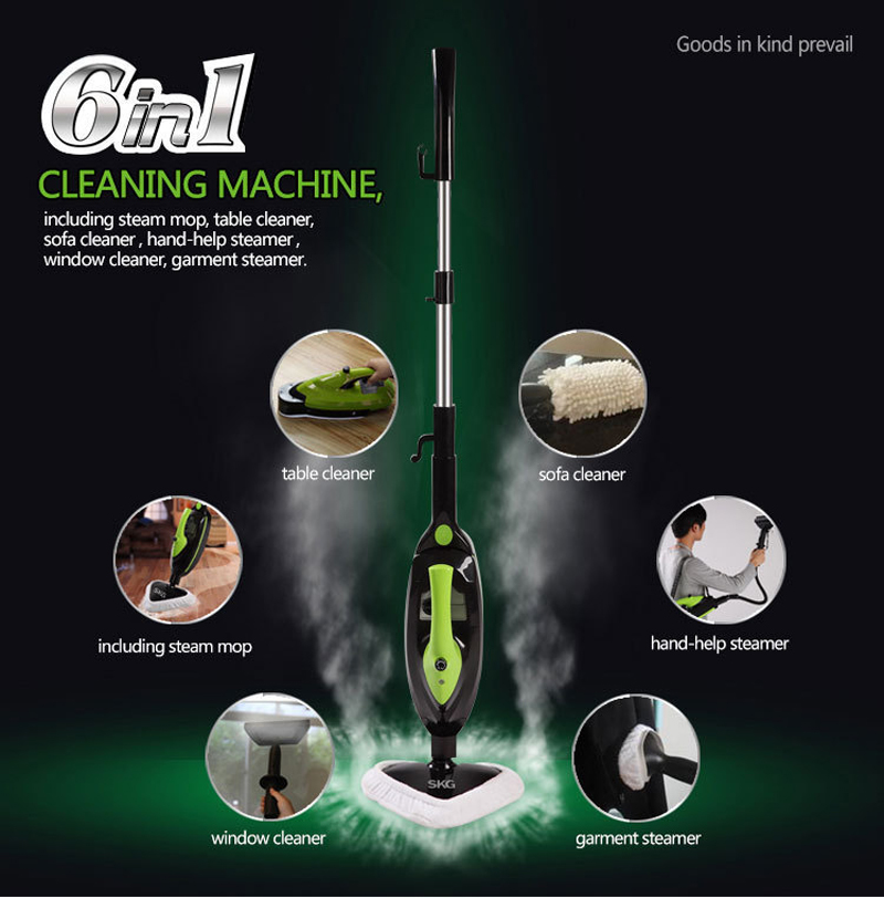Multi-function Steam Mop Cleaning Machine 220V Vacuum Cleaner(China (Mainland))