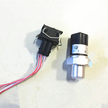 Air Conditioning High Pressure Sensor Switch + Plug Connection Cable For VW Passat B5 A4 A6 A8 S4 S8 8D0959482B 8D0 959 482 B(China (Mainland))