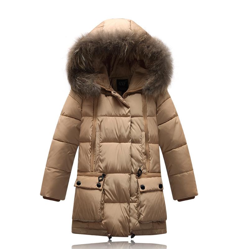 Brown Coats For Girls | Down Coat