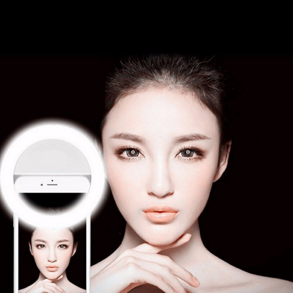 Portable Flash 36 Led Camera Enhancing Photography Selfie Ring Light for Smartphone iPhone 6 plus 6s 6 5s 5 4s 4 Samsung Galaxy(China (Mainland))