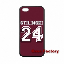 hard case Teen Wolf Stilinski letter 24 iPhone 4 4S 5 5S 5C 6 6S Plus SE iPod Touch HTC One M8 M9 Mini M4 Desire 816 - My Phone Cases Factory store