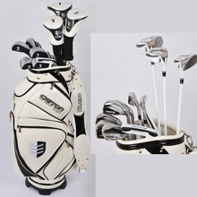 Original Brand Caiton Men Graphite Golf Club Sets With Golf Bag one golf clothing bag free on Promotion(China (Mainland))