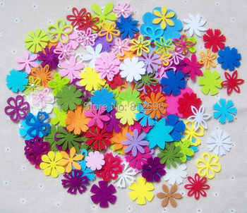"Free Shipping 100pcs 1.5"" Artificial Decorative Flowers 2015 Spring New Fashion Laser Cut Crafts Wedding Party Scrapbook Decor"