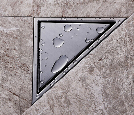 New Arrivals high quality 304 stainless steel Triangle Modern Deodorization Type bathroom Floor Drain Waste Drain Floor Drain<br><br>Aliexpress