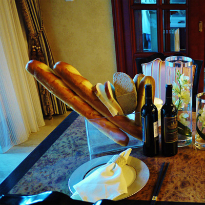 22 inches long French baguette bread simulation example room food items fake bread snacks in the afternoon tea(China (Mainland))