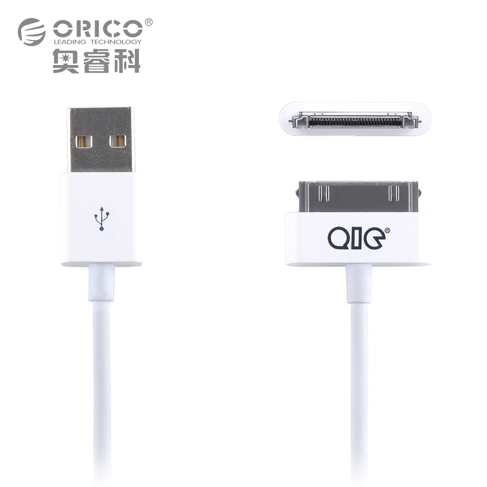3ft 1m Good Quality 30 pin USB Cable For Iphone4/4S USB Charger Data Sync Cable For iPhone 4 4s etc(China (Mainland))