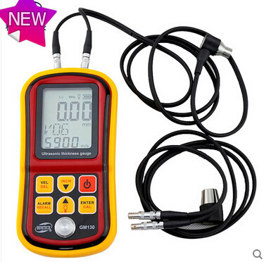 new Digital Ultrasonic Thickness Gauge precision steel 0.01mm double probe Steel / glass / plastic /ceramic ultrasonic thickness<br><br>Aliexpress