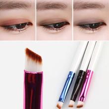 5PCS Pro.Vogue Angled Eyebrow Eyeshadow Brush Makeup Corner Eyeliner Cosmetic Eye Brow Make up Brush White Handle Free shipping!