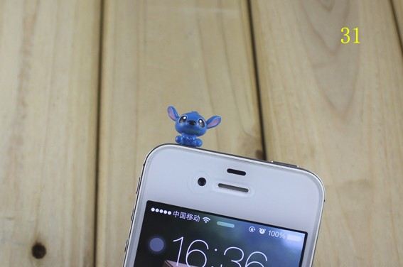 cartoon lovely DP-31 3.5mm universal dust Plug Earphone Jack Headset Stopper Cap iphone 5S/Samsung/htc - r's store